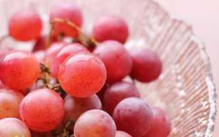 Лучшие розовые сорта винограда