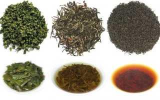 Самые лучшие сорта чая