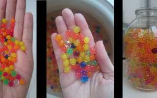 В какой воде выращивать шарики которые растут в воде