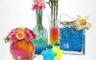 Как выращивать комнатные растения с применением гидрогеля?
