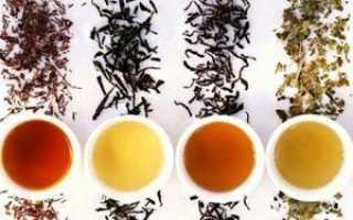 Лучшие сорта чая список