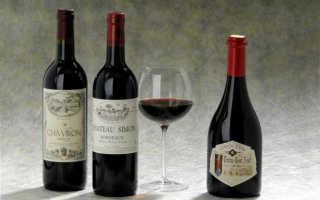 Лучшие сорта красных вин