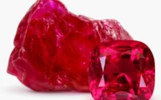 Как выращивать кристаллы рубина в домашних условиях?